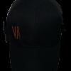 Cappellino nero baseball