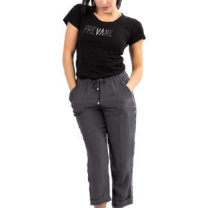 Pantaloni in seta Prevane