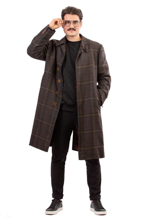 Cappotto in lana Maison Prevane