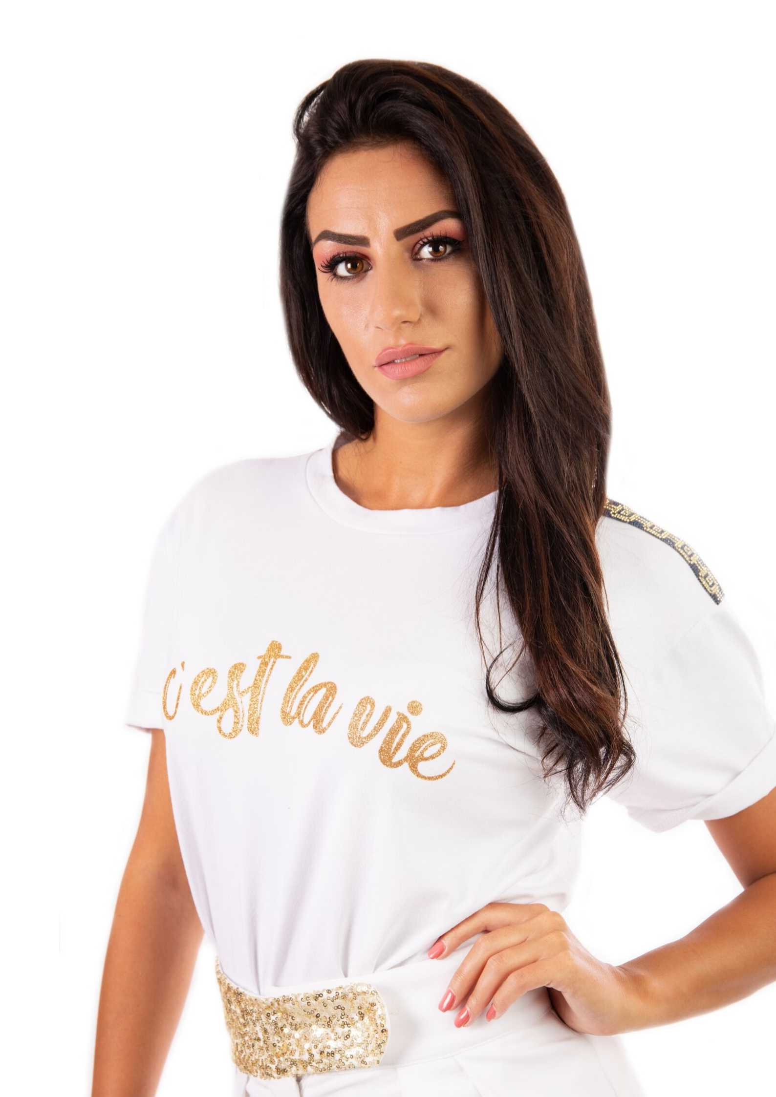 primavera estate t-shirt donna Prevane