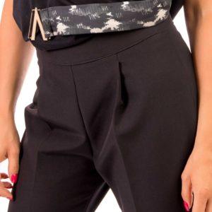 Pantalone Nero Capri Prevane