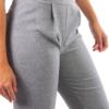 Pantalone capri grigio scuro