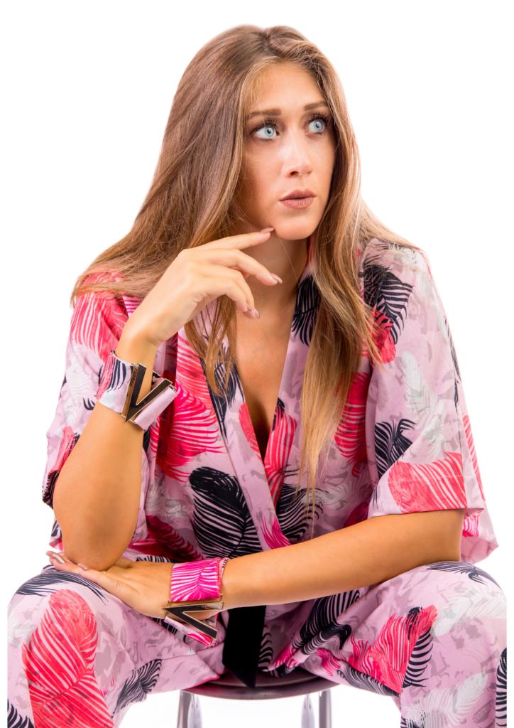 Tuta Kimono motivo piume _PREVANE
