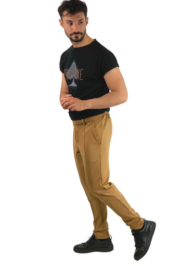 pantalone uomo free nero prevane